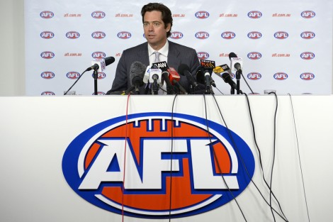 AFL Deputy Chief Gillon McLachlan